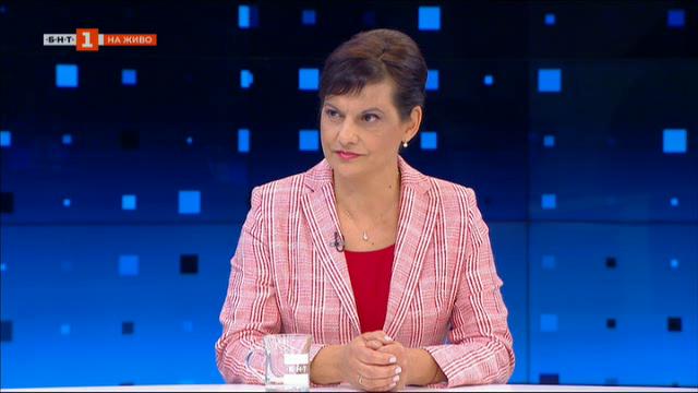 Дариткова: Безотговорно е да тласнем България към криза със служебeн кабинет