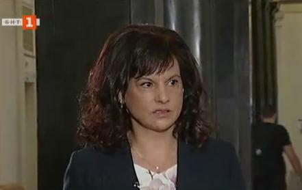 Даниела Дариткова: Нямаме притеснения да изложим контрааргументи срещу вота