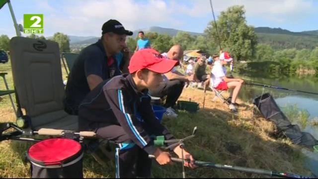 Време за губене - 28 юни 2014: Детско състезаниe по риболов
