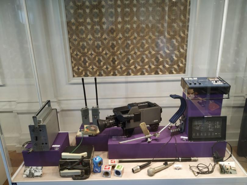 Изложба Хората и техниката в телевизията в Русе, посветена на 60 години БНТ