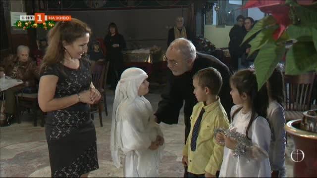 Как детска градина и столичен храм си сътрудничат преди Рождество Христово