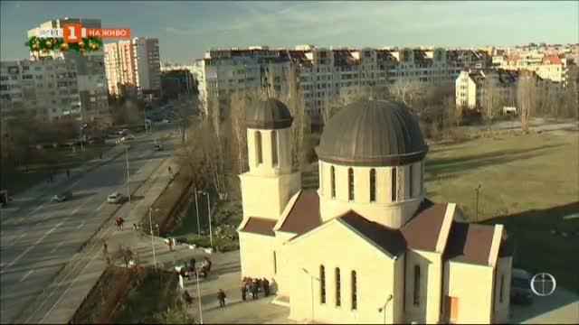 Най-новата църква, посветена на Рождество Христово, е в столичния кв. Младост