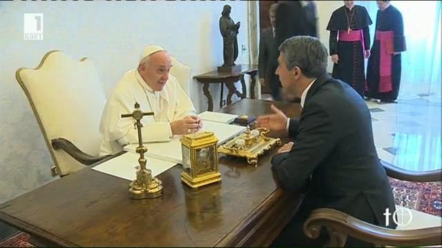 Има ли покана за гостуване от патриарх Неофит към папа Франциск