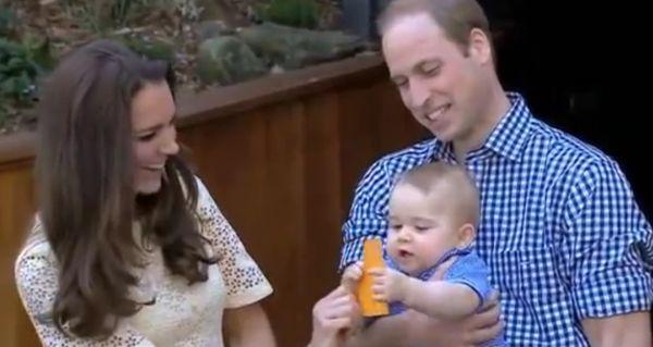 Уилям, Кейт и Джордж - едно ново кралско семейство
