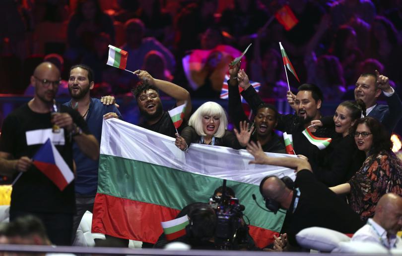 България се класира на финала на Евровизия