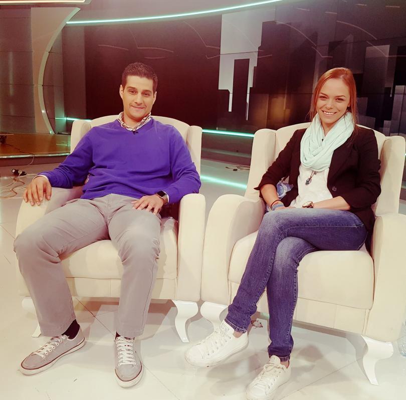 """Йоанна Темелкова и Мартин Гяуров - гости в """"Извън играта"""""""