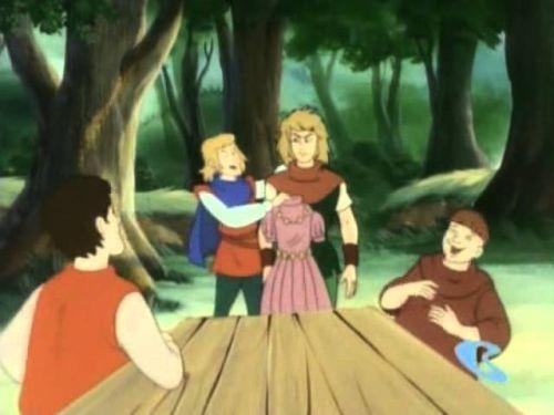 """Резултат с изображение за анимационен филм """"Робин Худ"""".."""