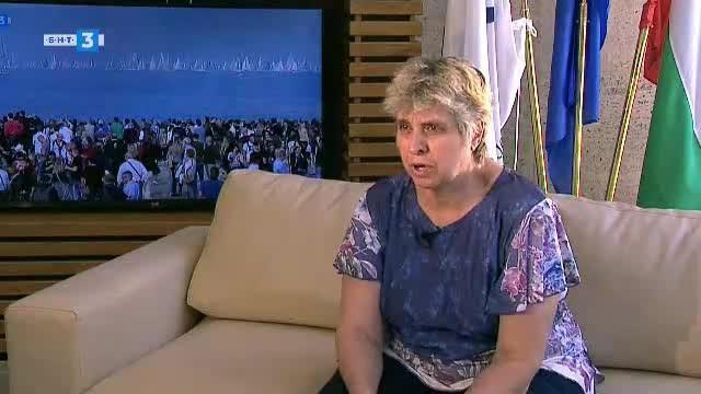 Верка Стоянова - волейбол