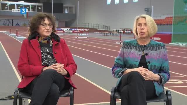 Светла Златева и Николина Щерева - лека атлетика