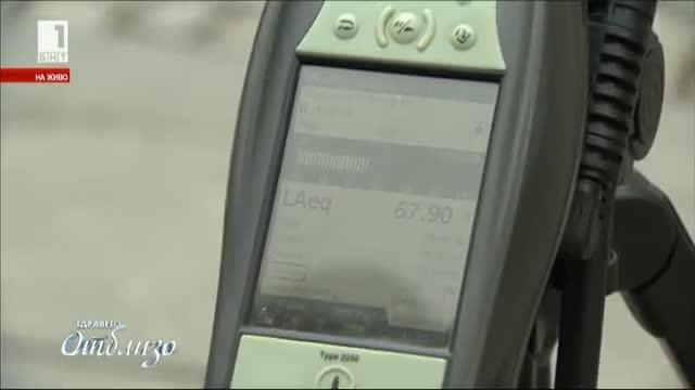 Измерване на шумовото замърсяване