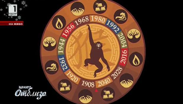 Годината на огнената маймуна