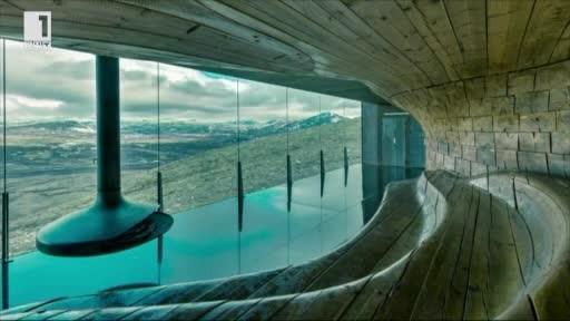 Заслонът в норвежката планина Тверфелет - портал към природата