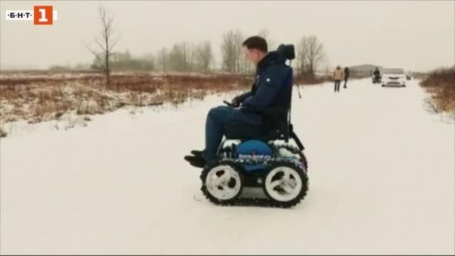 Електрическата инвалидна количка на Роман Аранин