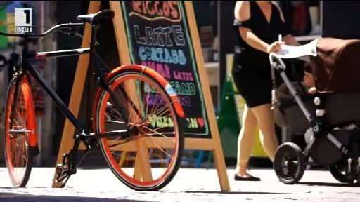 Как Дания се справя със задръстванията от велосипеди
