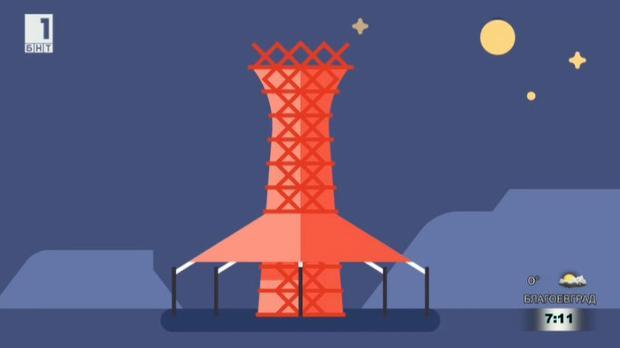 Бамбукови кули, които улавят вода от въздуха
