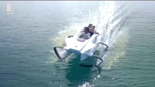 За новия модел четирикрила лодка - Зелена светлина, 05.03.2015