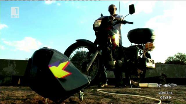 Мотоциклет, задвижван с вода