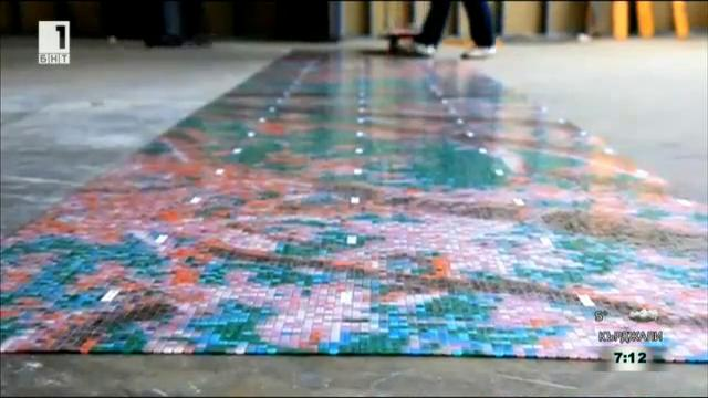 Рециклирането и производството на декоративни покрития