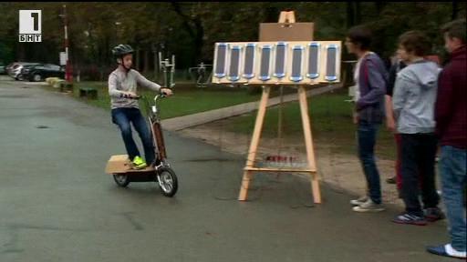Зелена светлина – 24 октомври 2014: Скутерът, задвижван със слънчева енергия