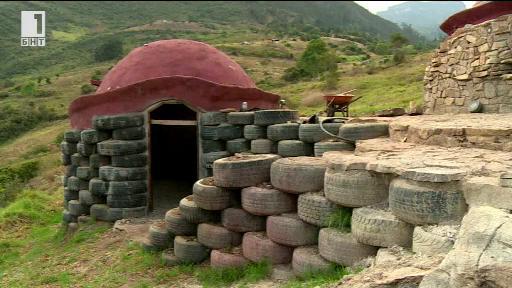Къщи от автомобилни гуми