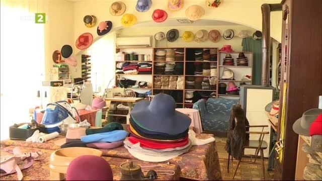 Изкуството да правиш оригинални шапки - Виолета Илиева от Варна