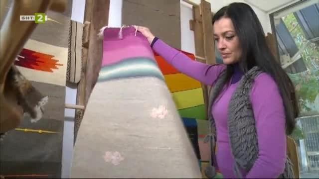 Дарина Апостолова за традицията на тъкачеството