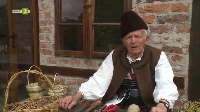 Димчо Занев - майстор на кошници