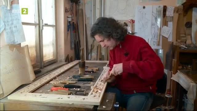 Емил Темелков - майстор дърворезбар