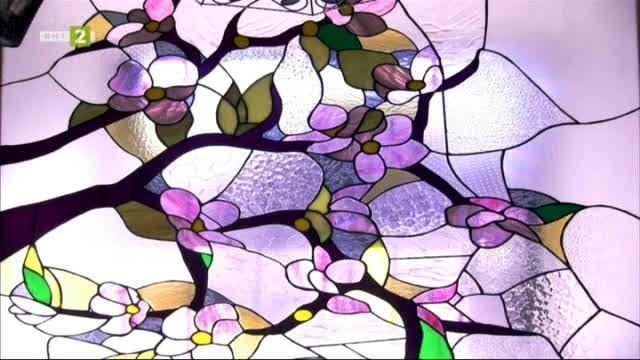 Артистичният свят на стъклото - Любомир Димитров - витражи