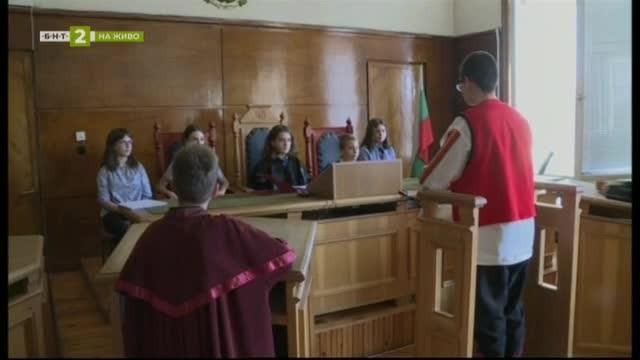 Симулативен съдебен процес по приказка за Хитър Петър