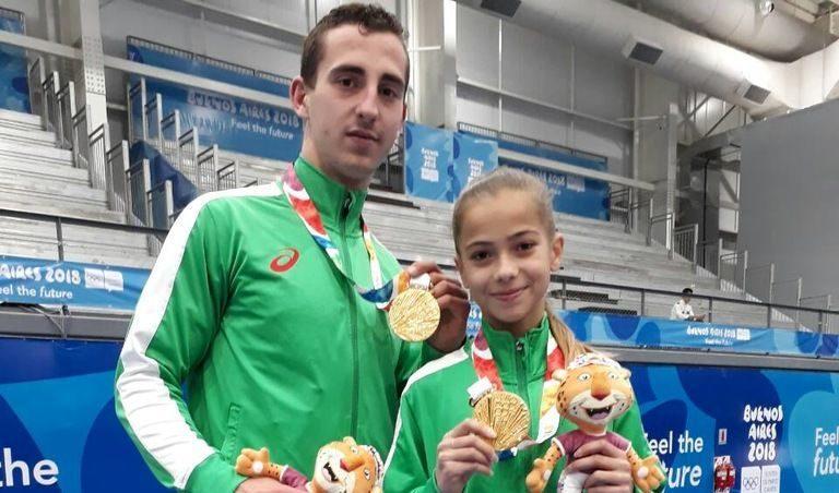 Златни олимпийски медали за български акробати